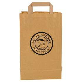 Recycled Medium Paper Carrier Bags - extra images