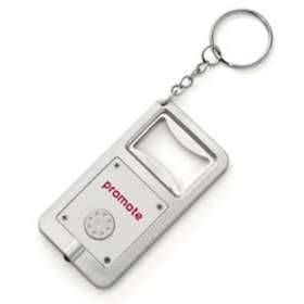 LED Light And Bottle Opener Key Ring