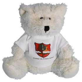 Snowy Bean Bear 15cm