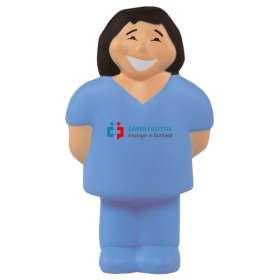 Stress Female Nurse