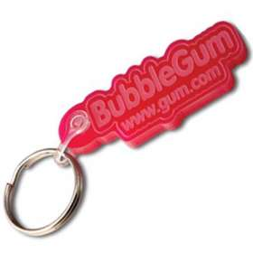 Embossed Acrylic Keyrings