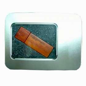 USB Metal Window Tin
