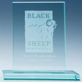 Rectangle Jade Glass Award
