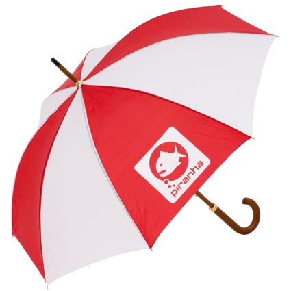 The largest range of custom printed promotional umbrellas