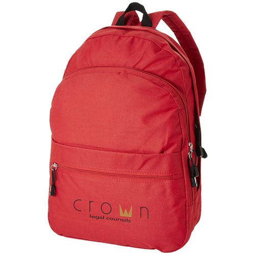 Promotional Trend Rucksack with company logos
