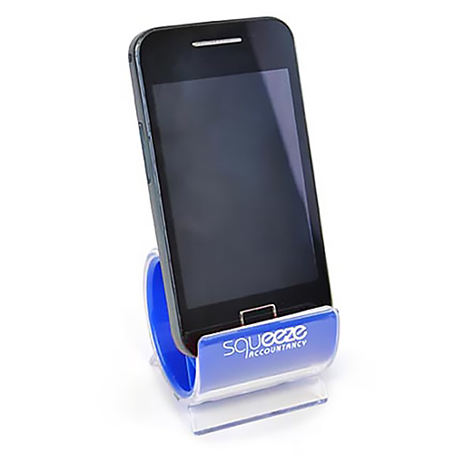 Branded Turbo Smart Phone Stand for workplaces